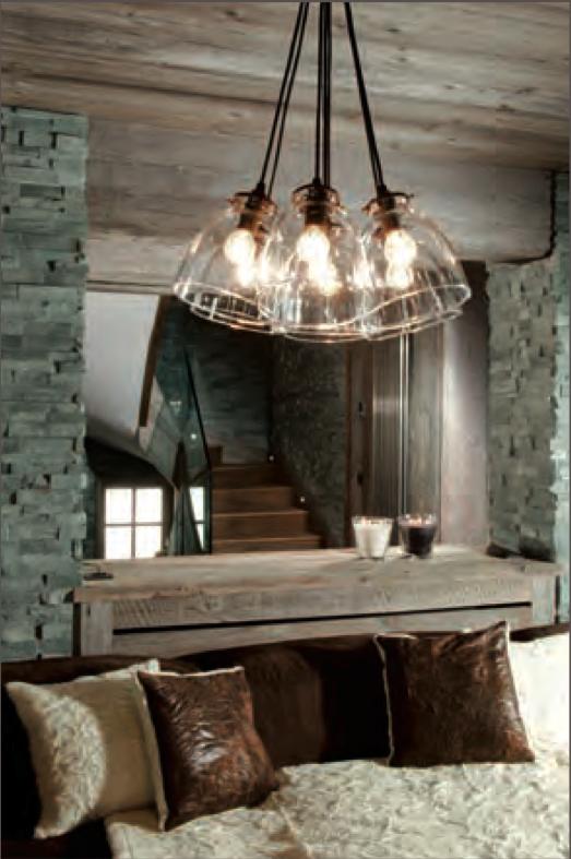 Lampade da montagna illuminazione decorativa e tecnica - Lampadari per la casa ...